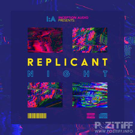 Displaced Paranormals - Replicant Night LP (2020)