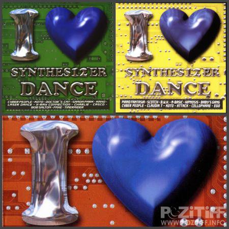 I Love Synthes12''er Dance Vol. 1-3 (2002-2004) FLAC