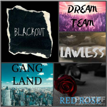Dj Zroc - Black Out, Dream Team, Gang Land, Lawless, Red Rose (2020)