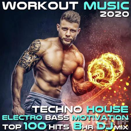 Workout Music 2020 Techno House Electro Bass Motivation Top 100 Hits 8 Hr DJ Mix (2020)