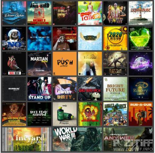 Reggae Music Collection Pack 036 (2020)
