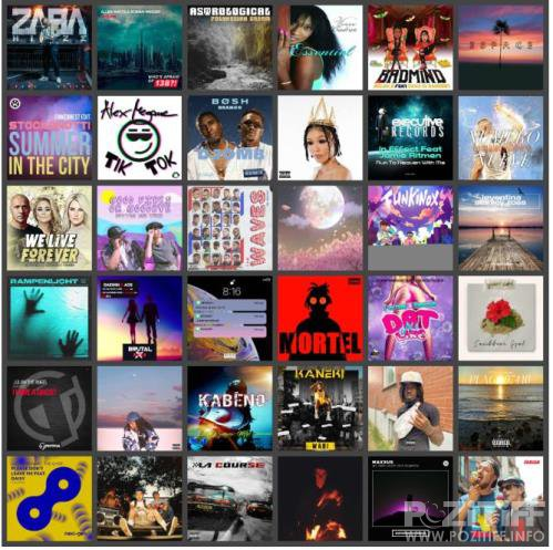 Electronic, Rap, Indie, R&B & Dance Music Collection Pack (2020-08-13)